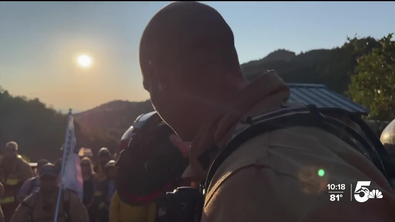 Sixth annual Firefighter Incline Climb commemorates 20 years since 9/11