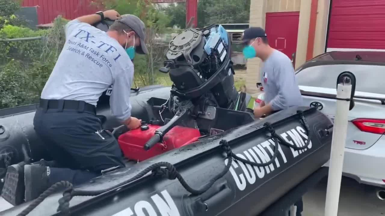 Texas A&M Task Force One deployed ahead of Tropical Storm Nicolas