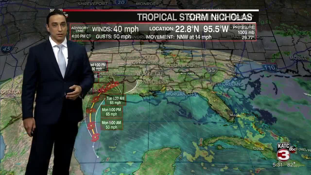 Bradley's Weather Forecast 5;30 Part 1  9-12-21