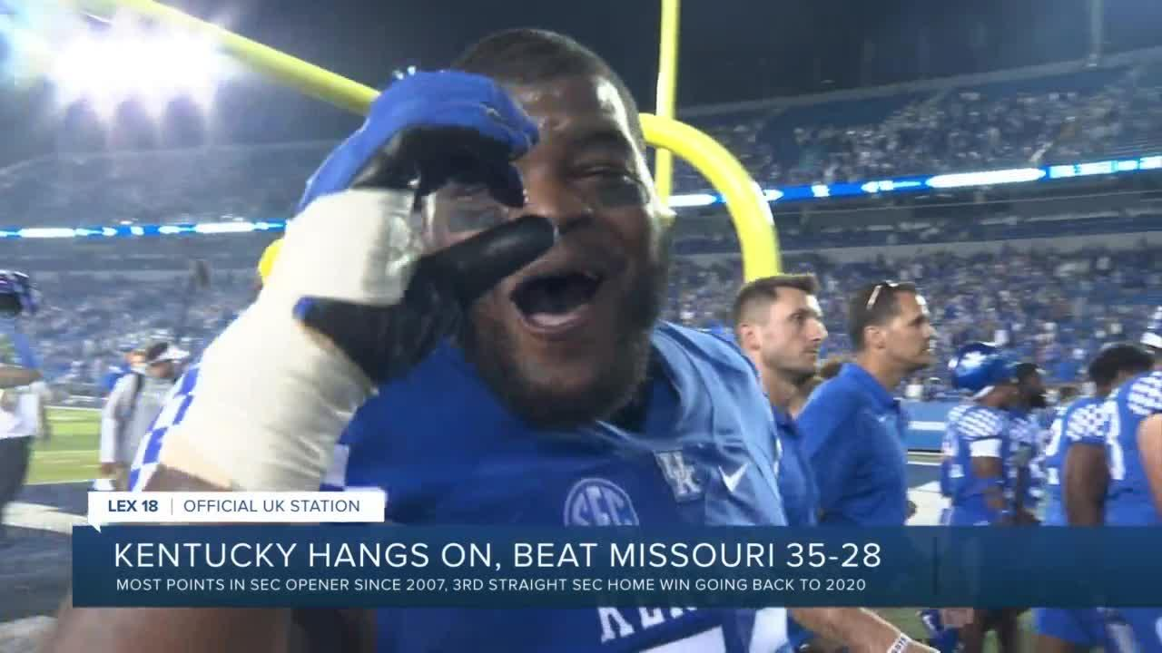 UK outlast Missouri in a shootout 35-28; highlights & postgame reaction