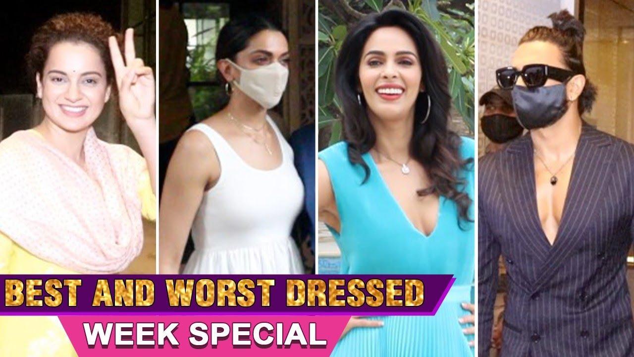 Kangana, Deepika, Ranbir, Alia | Week's Best & Worst Dressed | Spotted