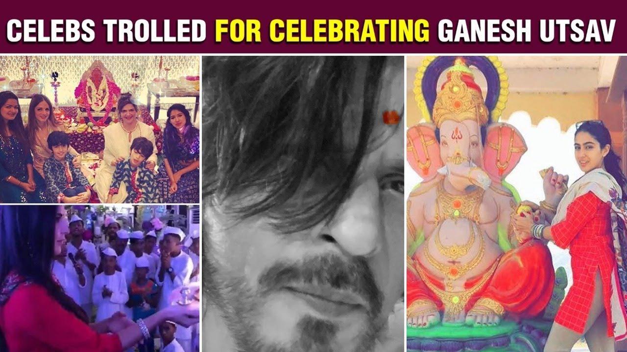 Sara, ShahRukh, Katrina, Salman & Stars Who Were ATTACKED By Trollers While Celebrating Ganesh Utsav