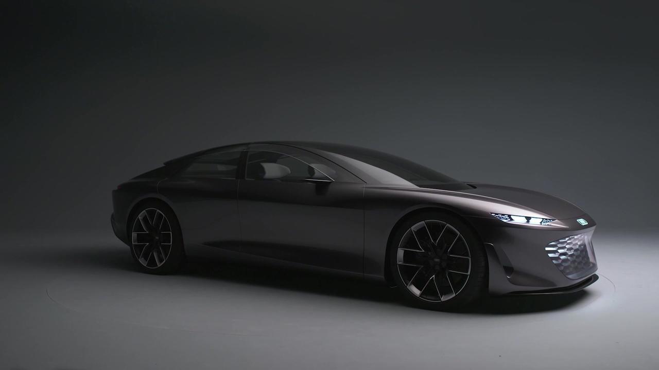 The new Audi grandsphere concept Exterior Design in Studio