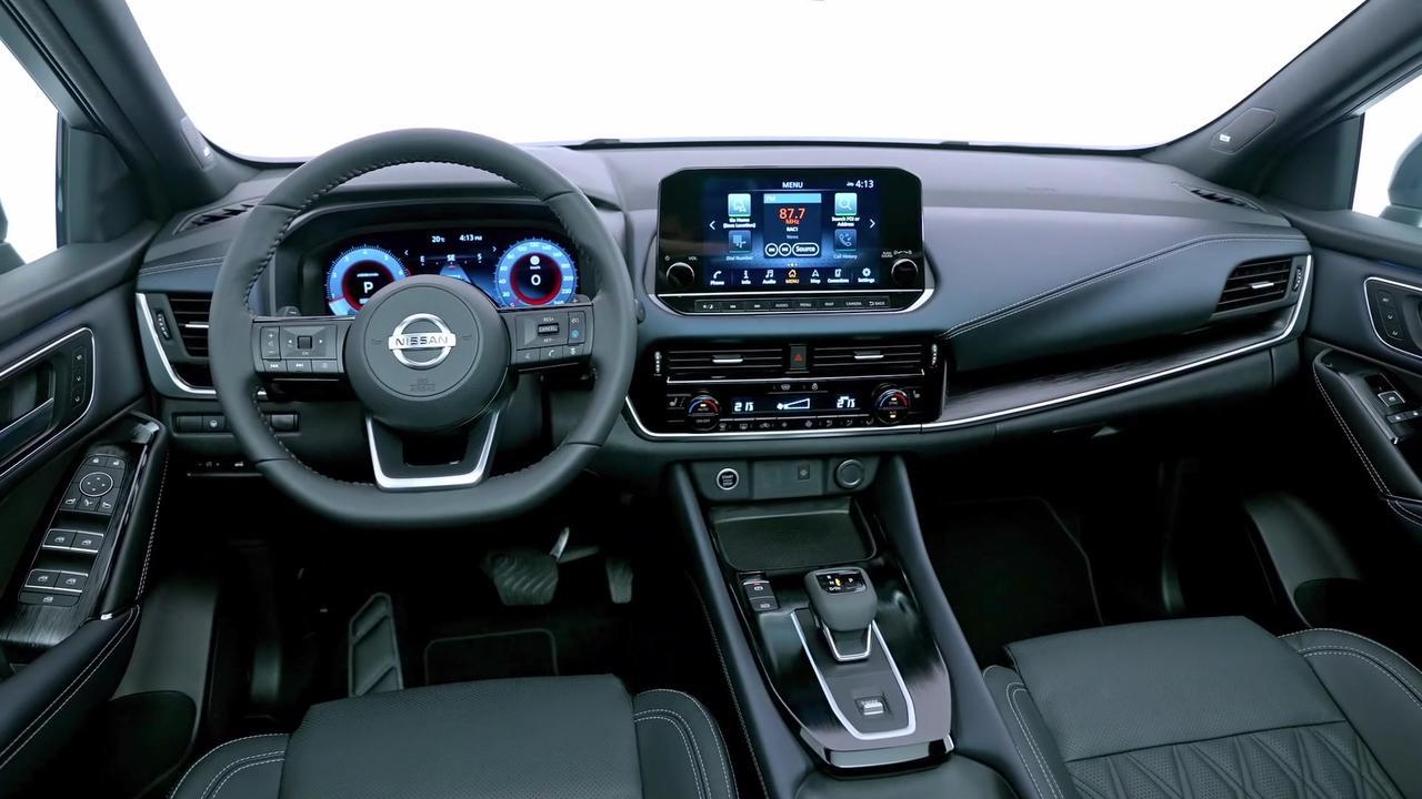 All-New Nissan Qashqai Interior Design