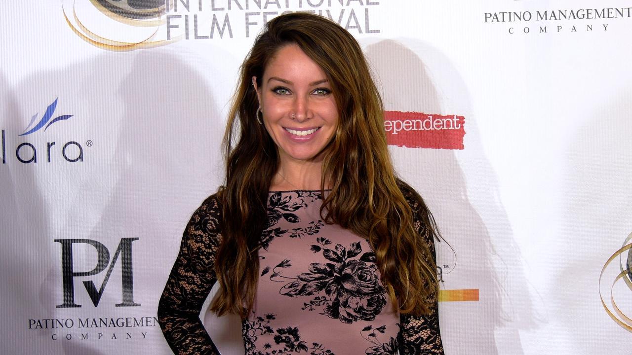 Celeste Fianna attends the 13th annual Burbank Intl Film Festival Closing Night Awards Gala red carpet