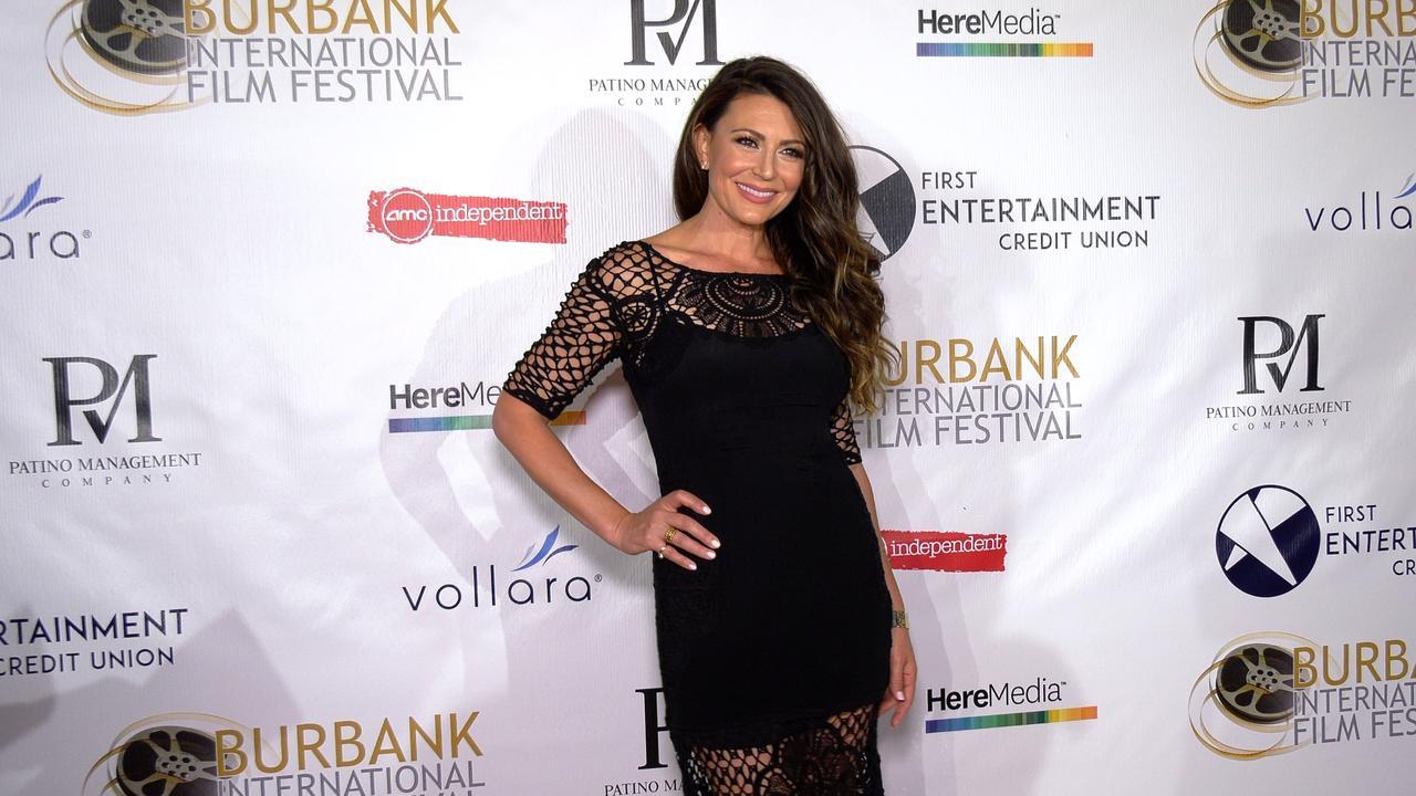 Cerina Vincent attends the 13th annual Burbank Intl Film Festival Closing Night Awards Gala red carpet