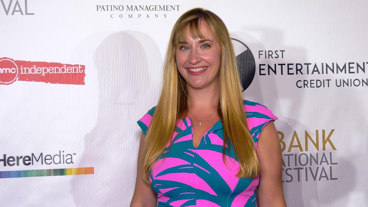 Emily Bridges attends the 13th annual Burbank Intl Film Festival Closing Night Awards Gala red carpet