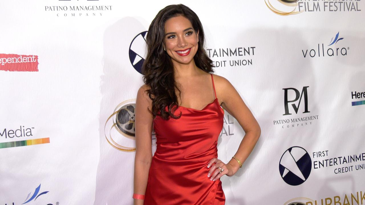 Gladys Bautista attends the 13th annual Burbank Intl Film Festival Closing Night Awards Gala red carpet