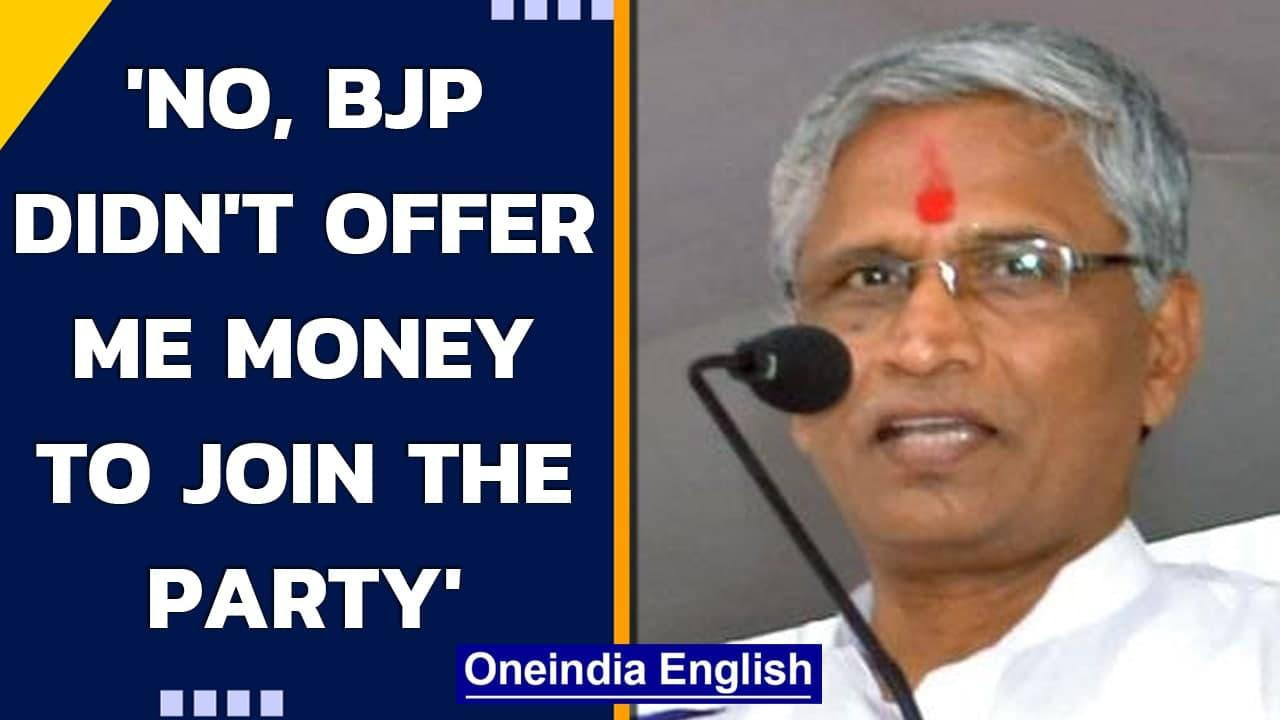 Karnataka MLA Shrimant Patil says BJP offered him money, retracts statement | Oneindia News