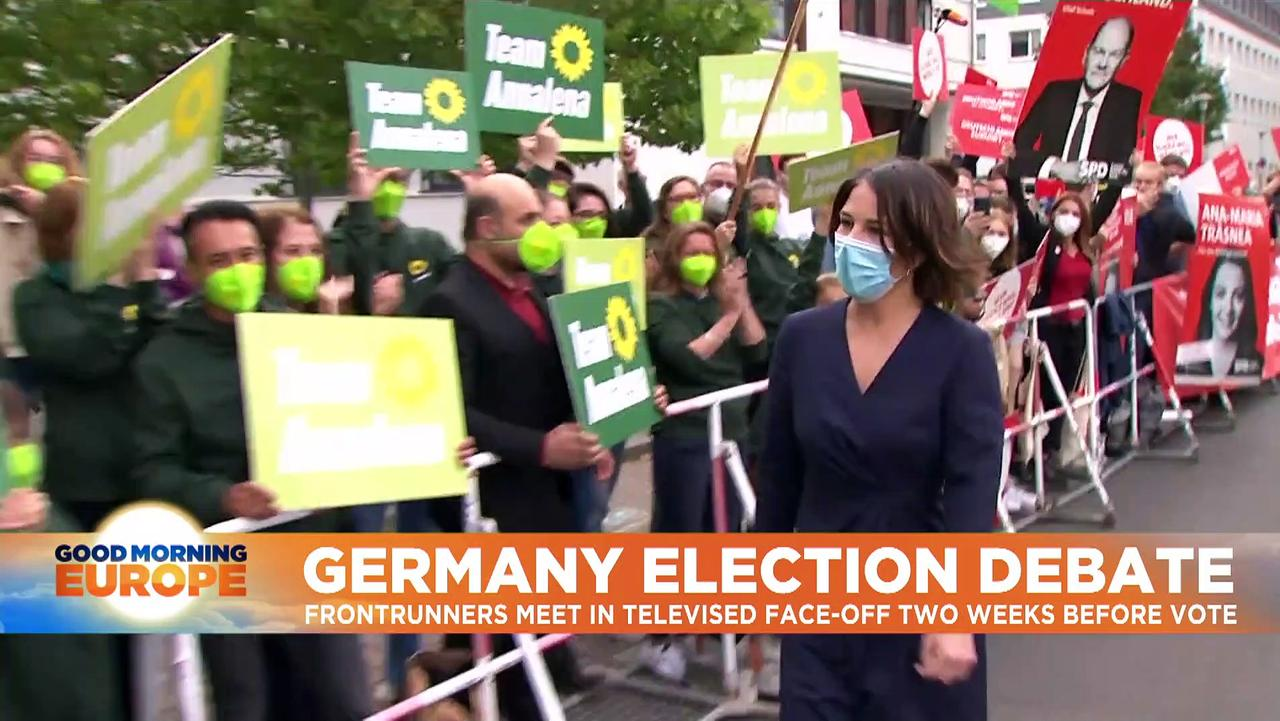 German election: Laschet goes on the attack against frontrunner Scholz