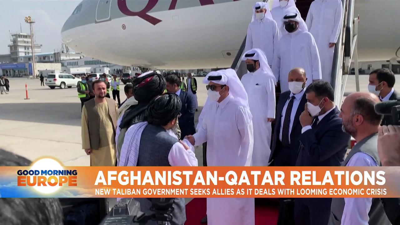 Qatar sends highest-ranking delegation to Kabul since Taliban takeover