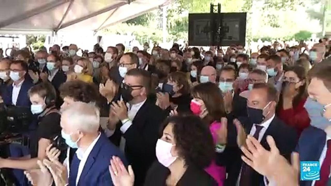 Paris mayor Hidalgo joins Macron challengers in race for president