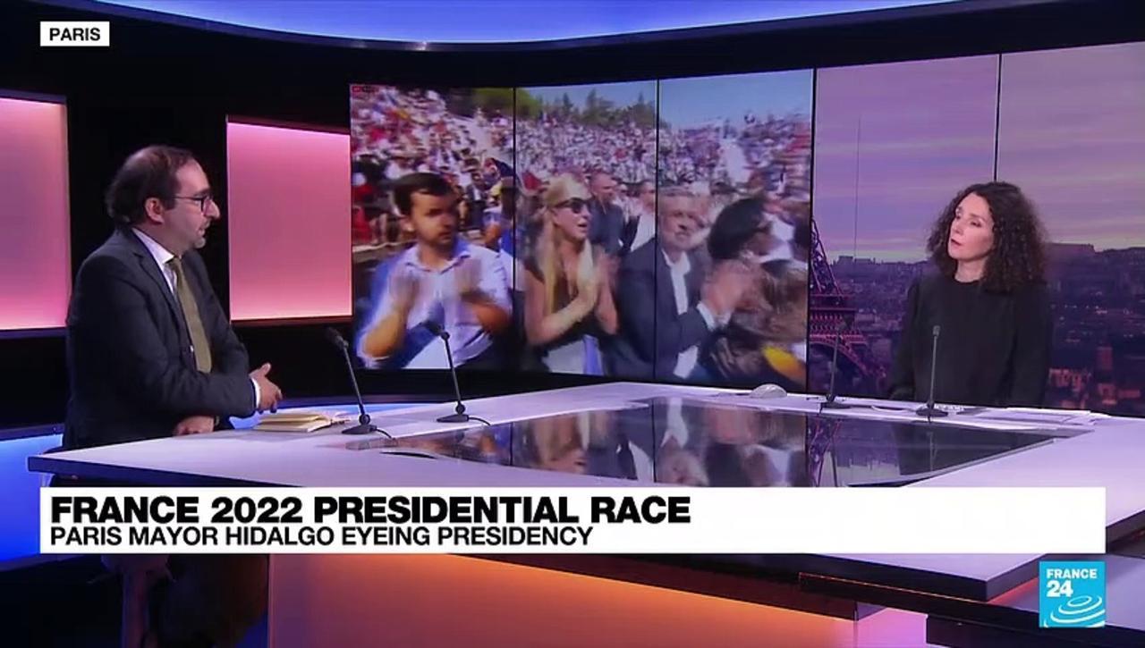 Paris mayor Hidalgo enters race for France 2022 presidential race