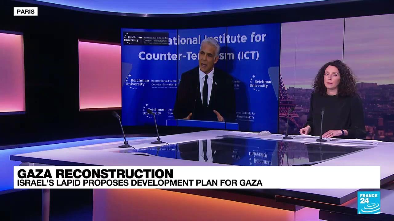 Israeli foreign minister proposes development plan for Gaza