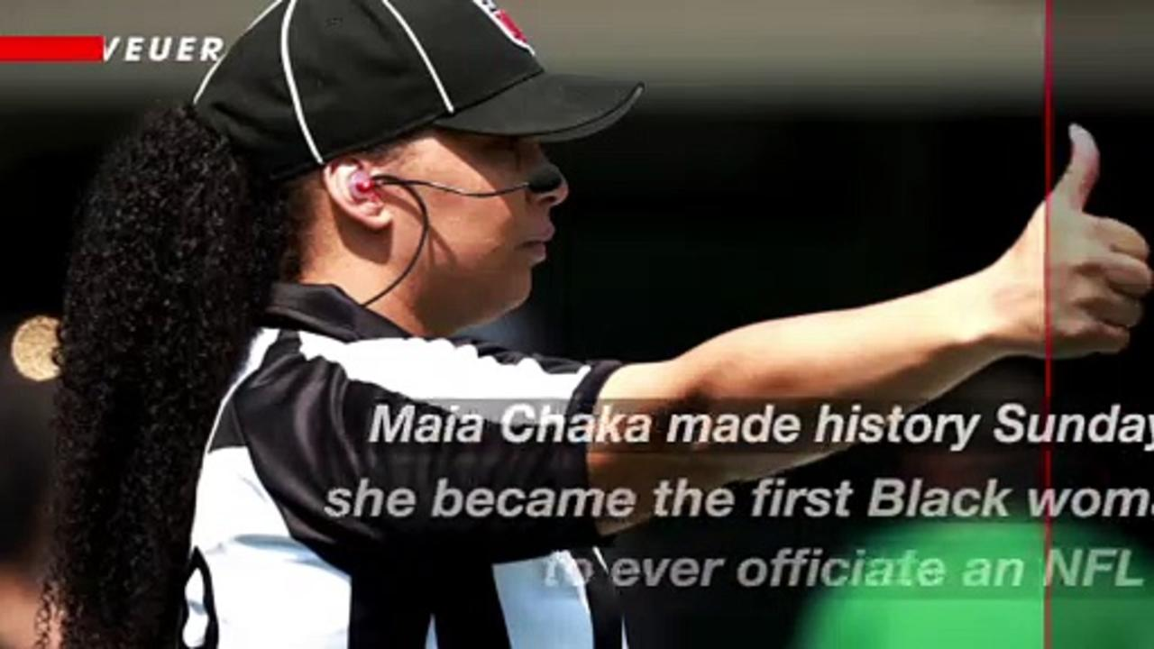 Maia Chaka Becomes the First Black Woman to Officiate an NFL Game