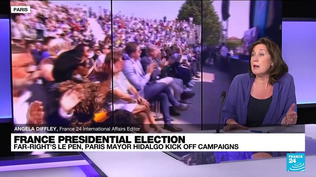 France presidential election: Far-right's Le Pen, Paris mayor Hidalgo kick off campaigns
