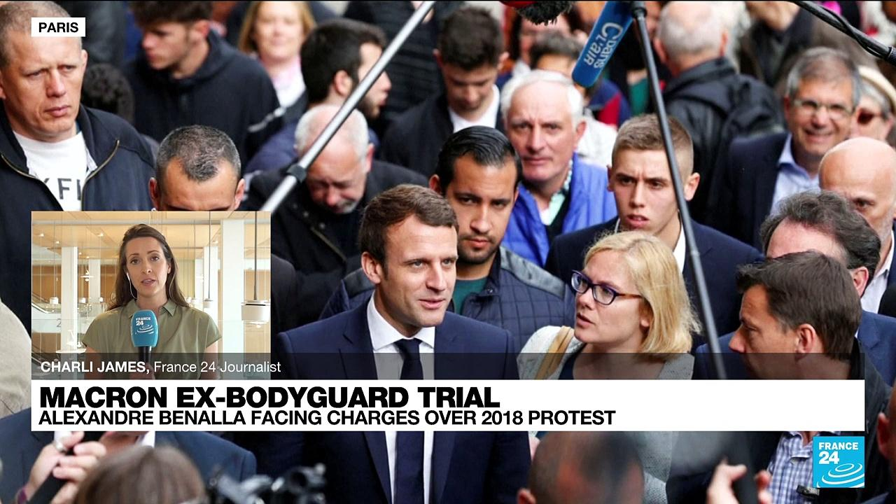 Elysee Palace intrigue: Macron ex-bodyguard on trial over 2018 protest