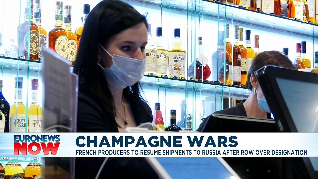 France to resume champagne exports to Russia as talks bid falls flat