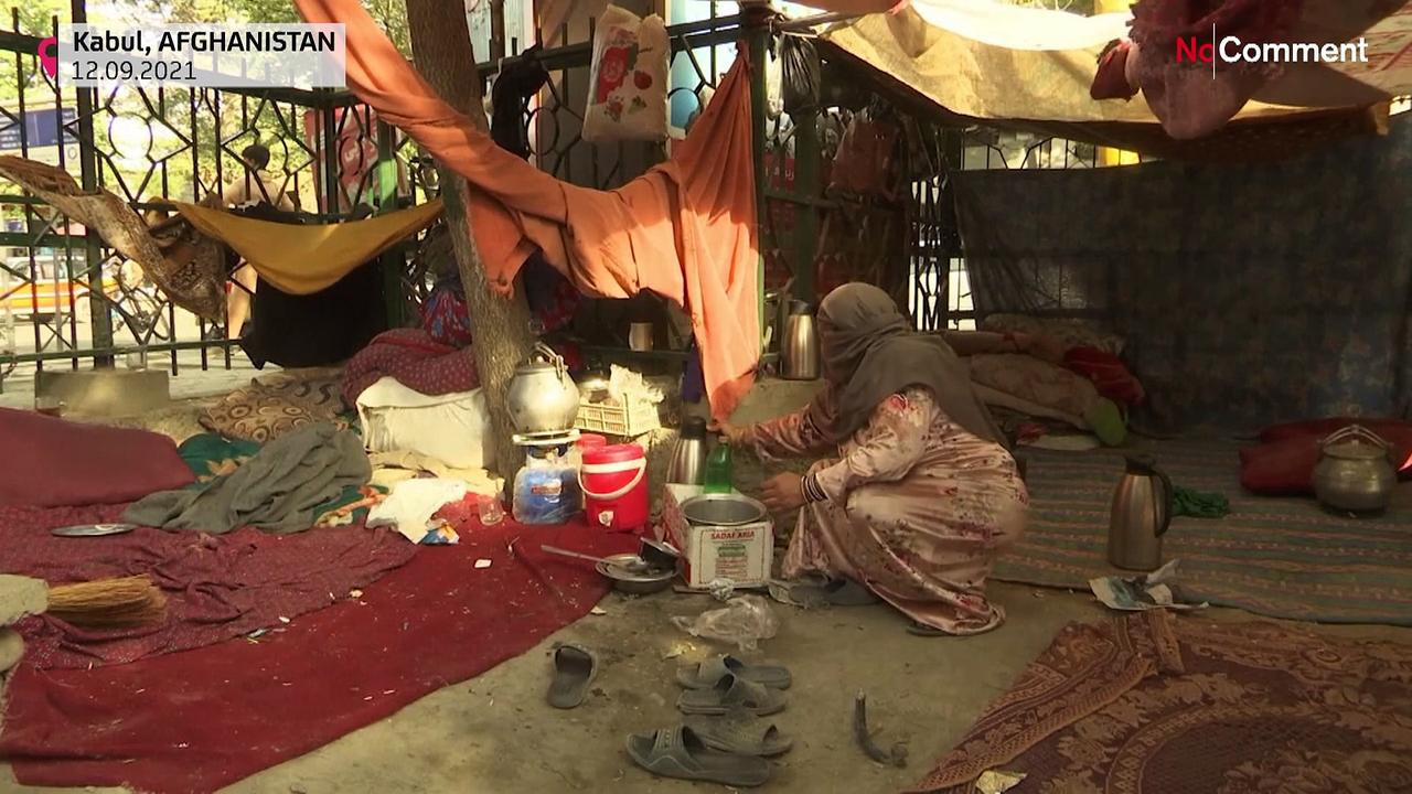 Afghans struggle to survive as Taliban face challenges