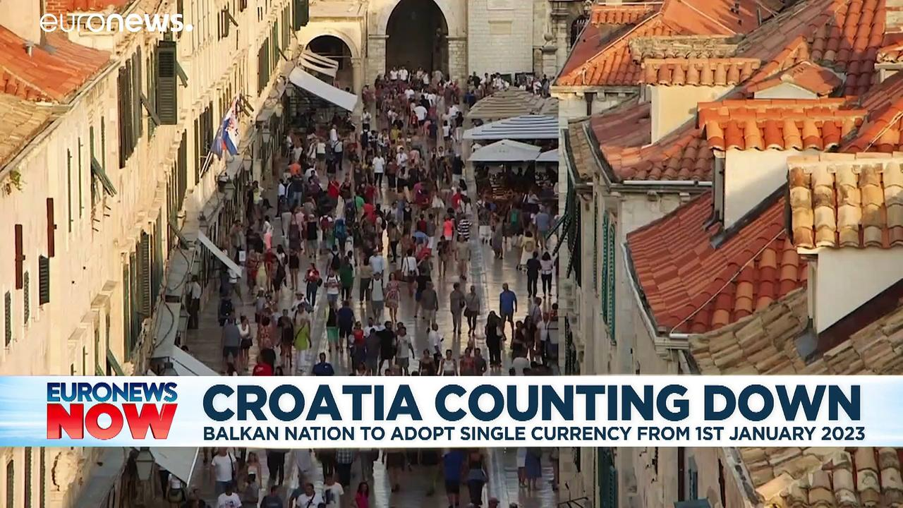 Croatia counting down to join the Eurozone from 1st January 2023