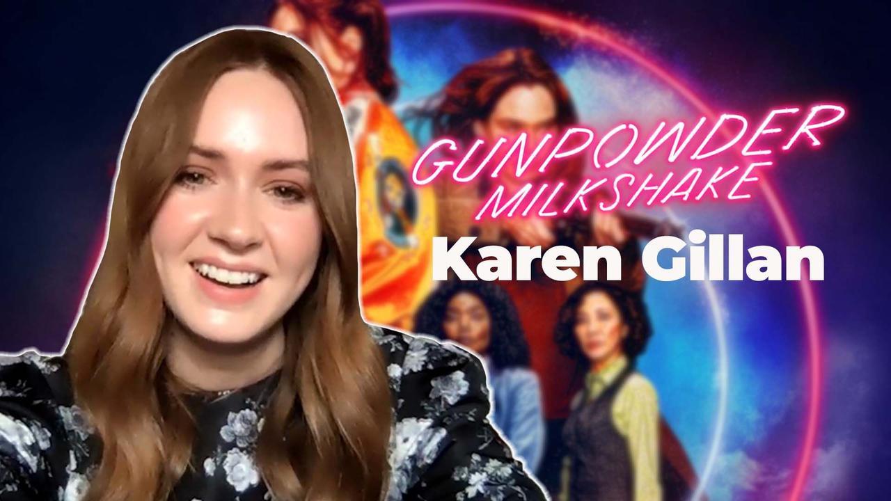 Karen Gillan on being starstruck while filming Gunpowder Milkshake