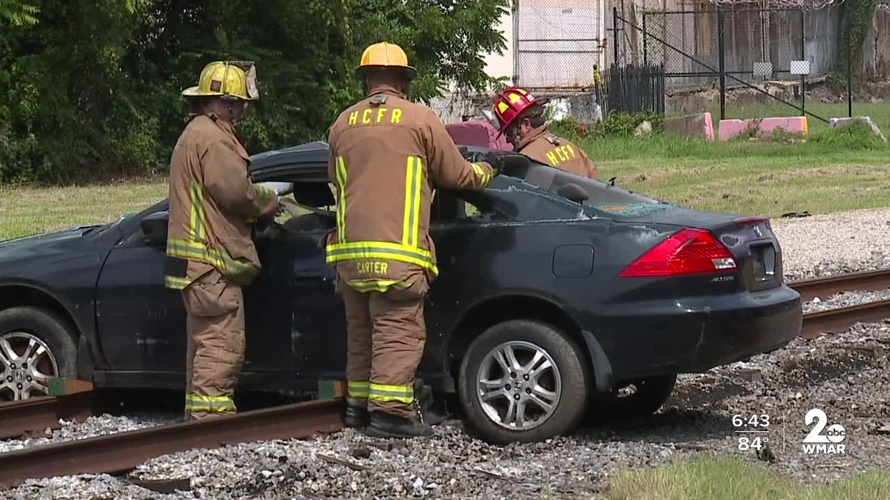 The B&O Railroad Museum honors first responders