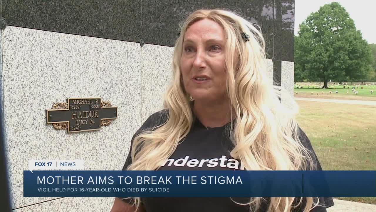 Mother aims to break the stigma