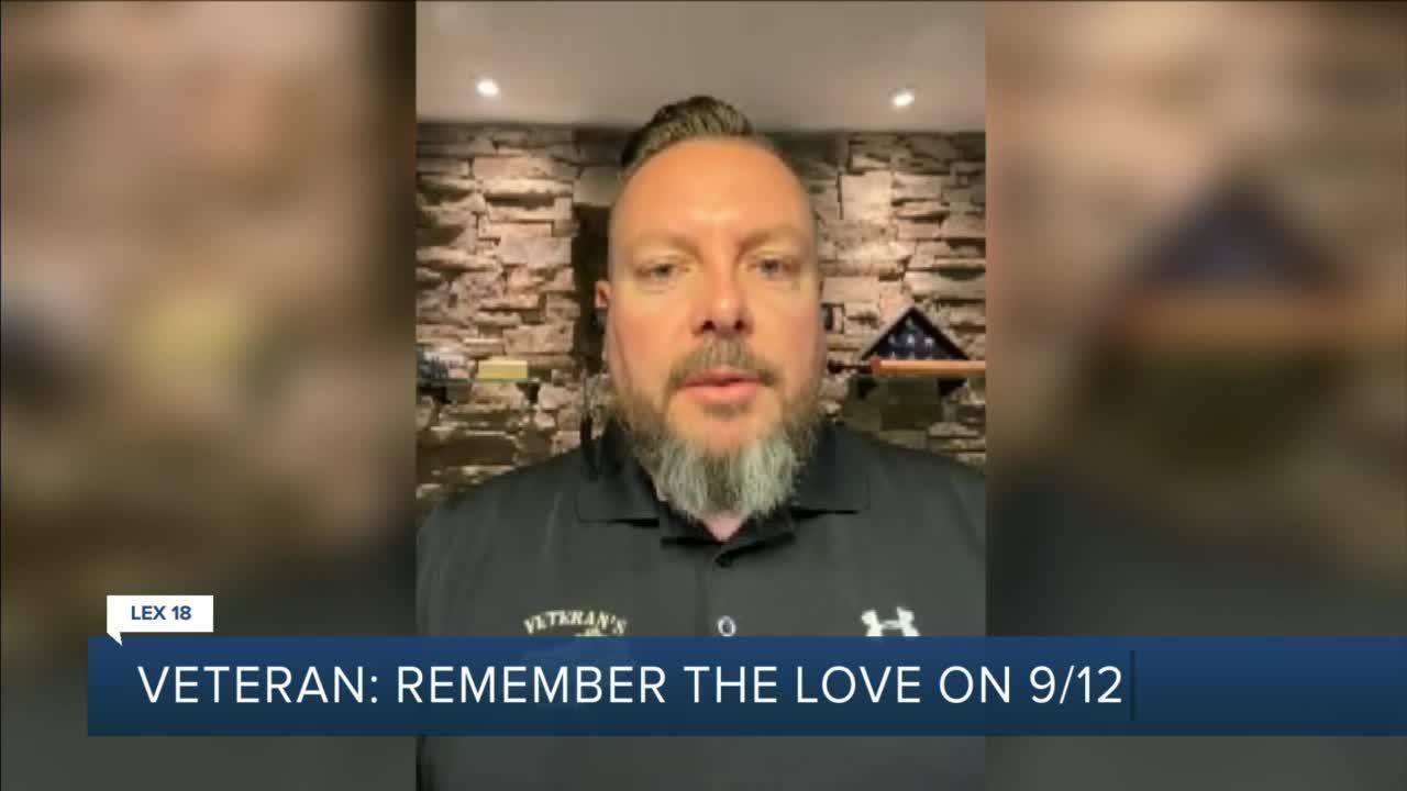 Veteran: remember the love on 09/12/01