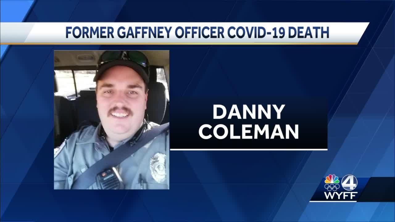 Former Gaffney officer Covid-19 death