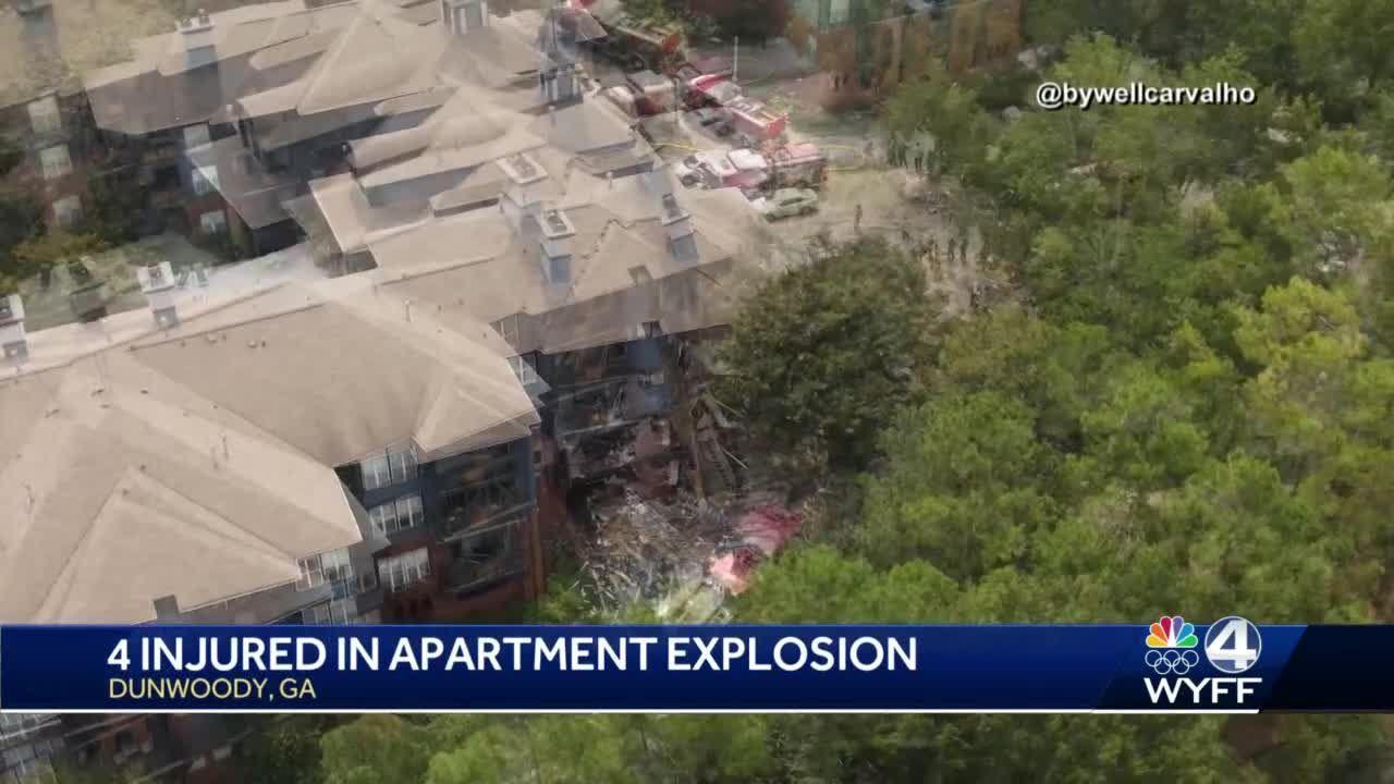 Atlanta apartment explosion