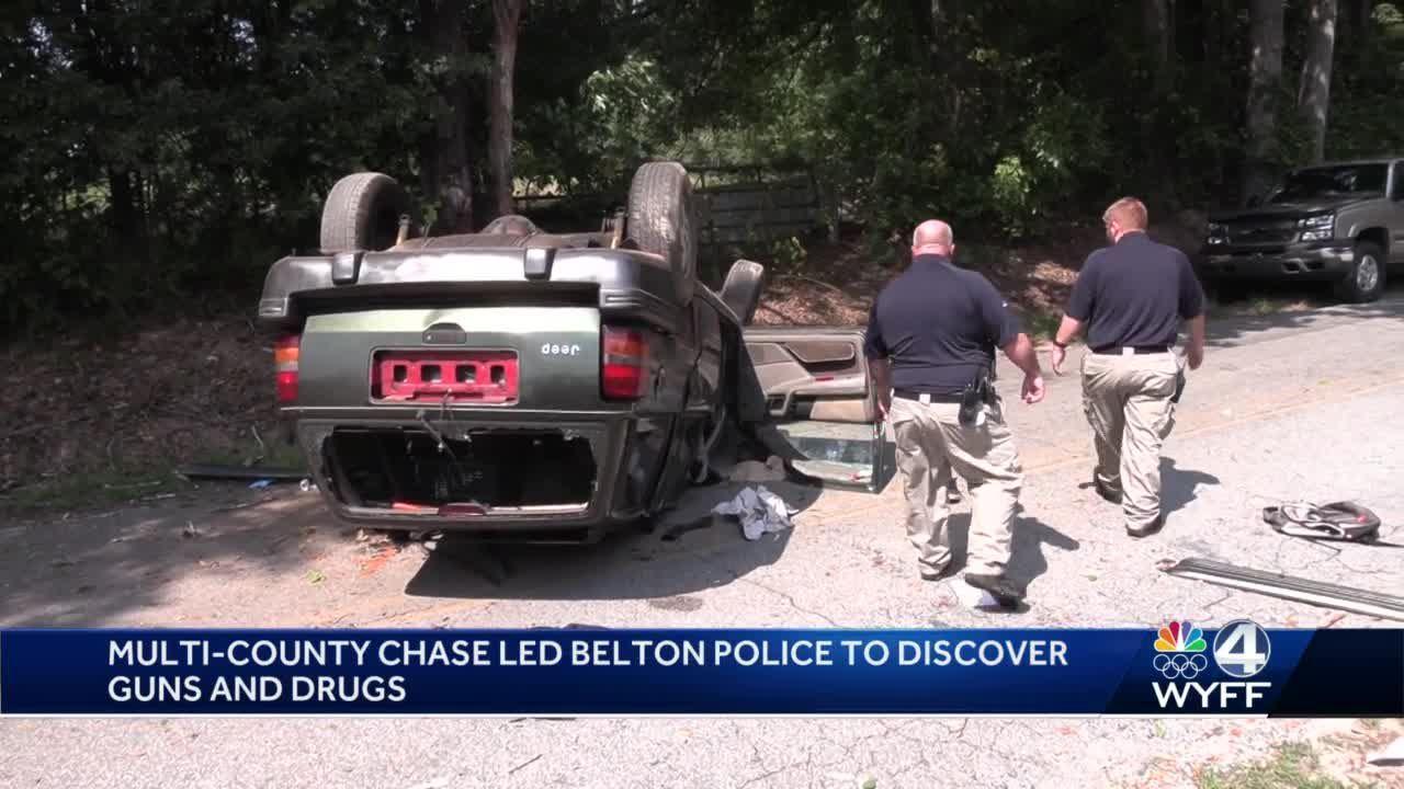 Belton Police Chase