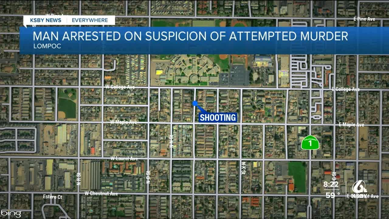 Arrest made following shooting in Lompoc that injured 2