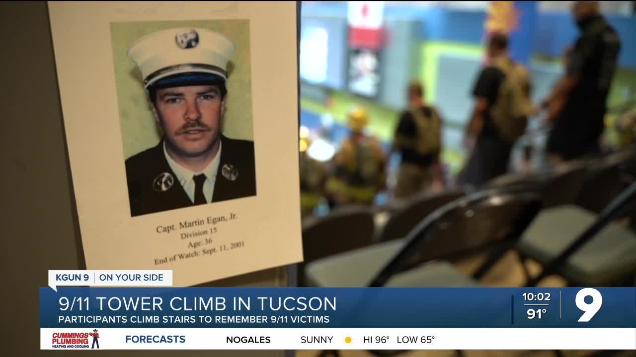 Tower Climb in Tucson to remember victims of 9/11
