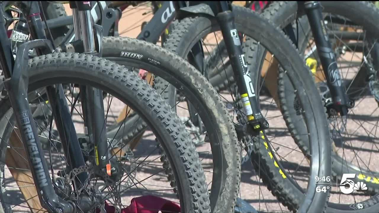 'Kids on Bikes' gives children a chance to participate in a duathlon