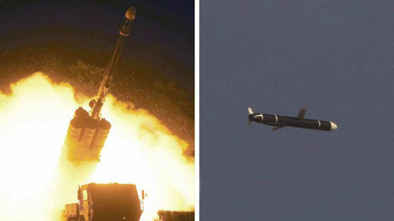 State media: North Korea tests long-range cruise missiles