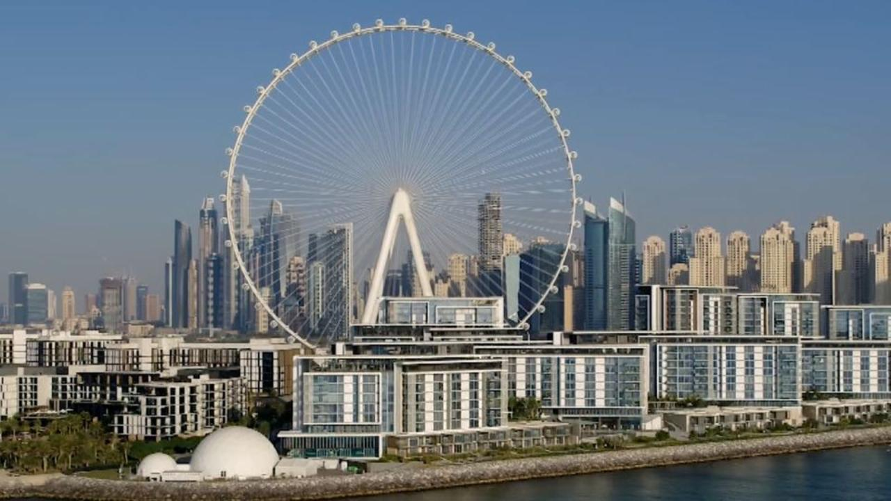 This is the tallest observation wheel in the world