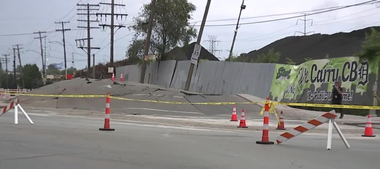 Underground issue causes severe damage
