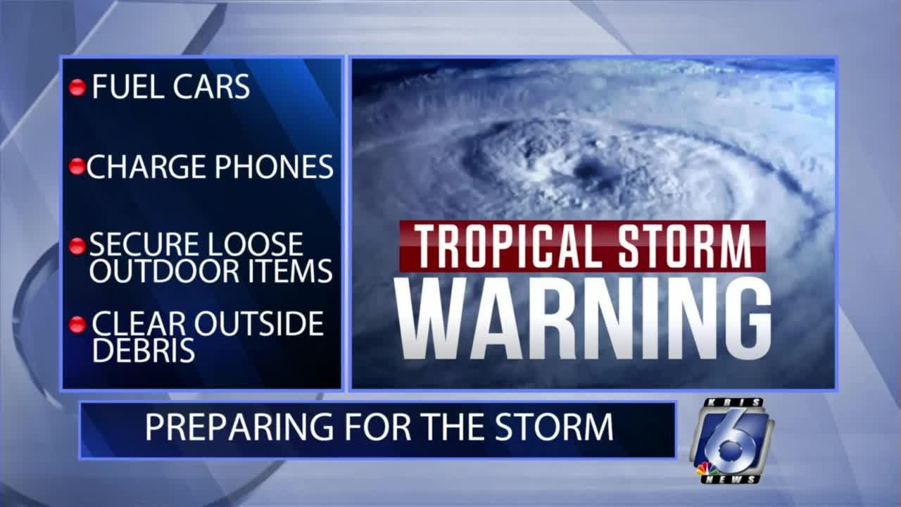 Tips on how to prepare for the storm