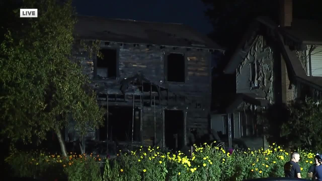 2 adults, 3 children killed in house fire in Akron's North Hill neighborhood overnight