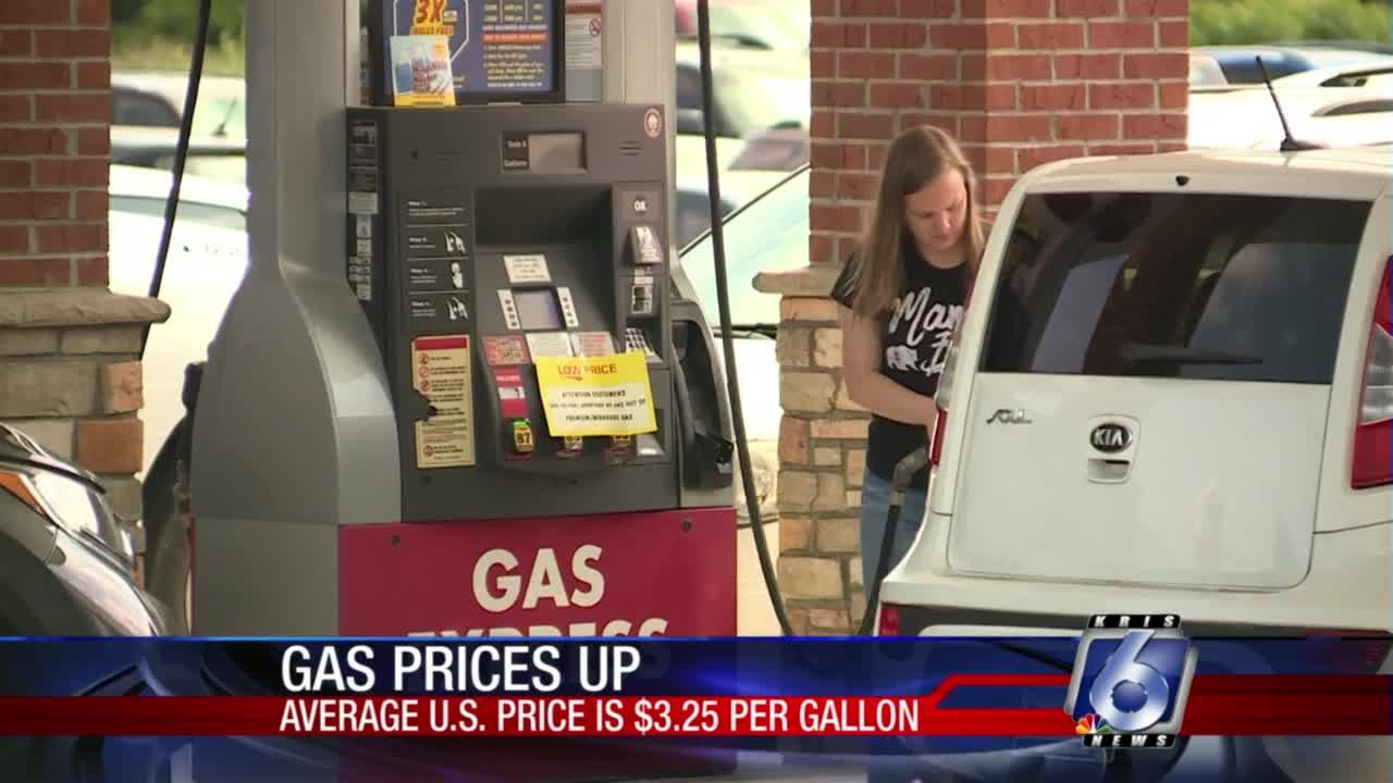 Gas prices continue to rise nationally, locally