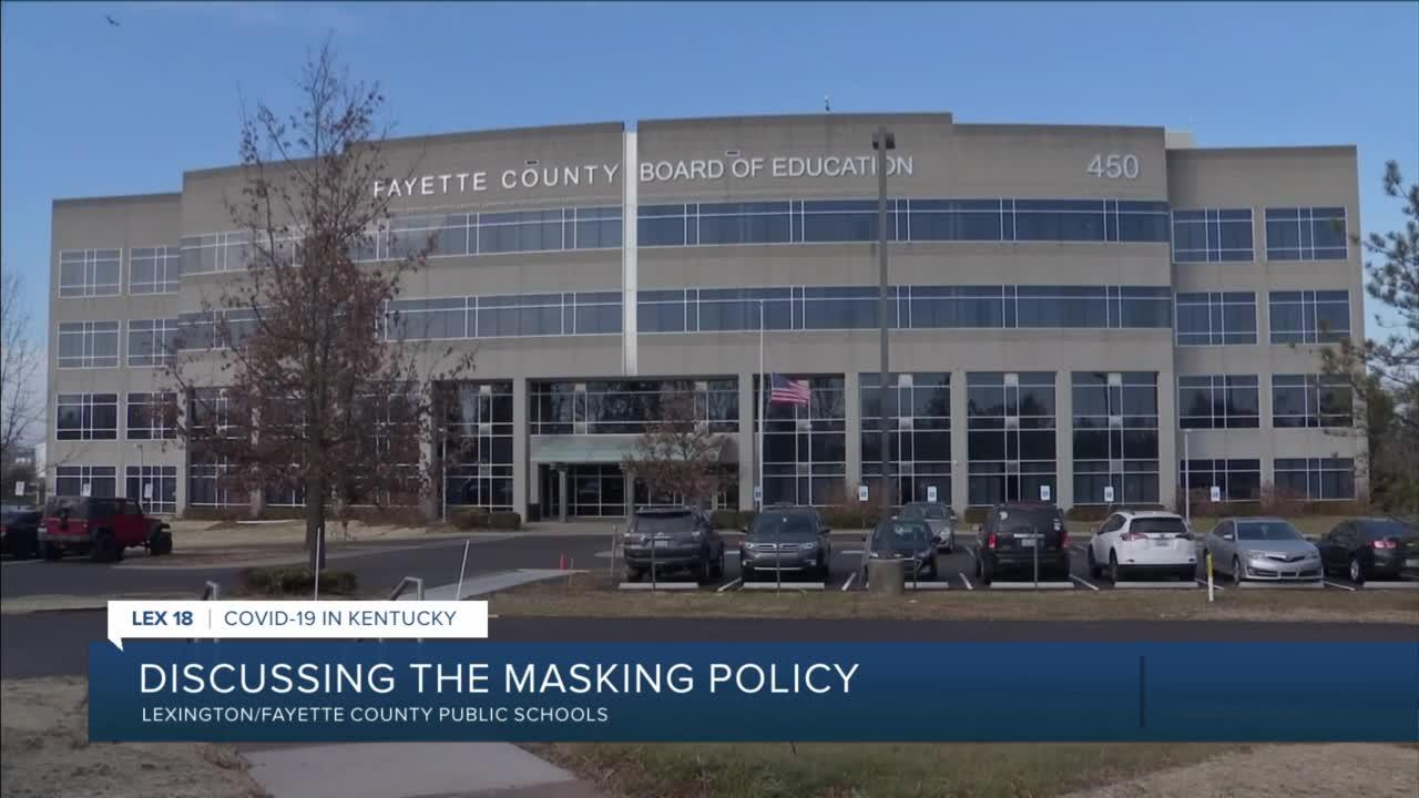 Discussing FCPS masking policy