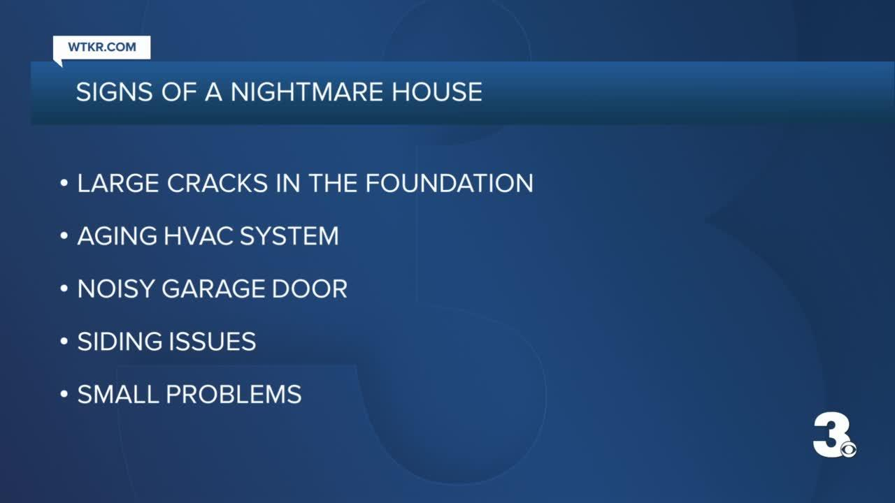 signs of a nightmare home
