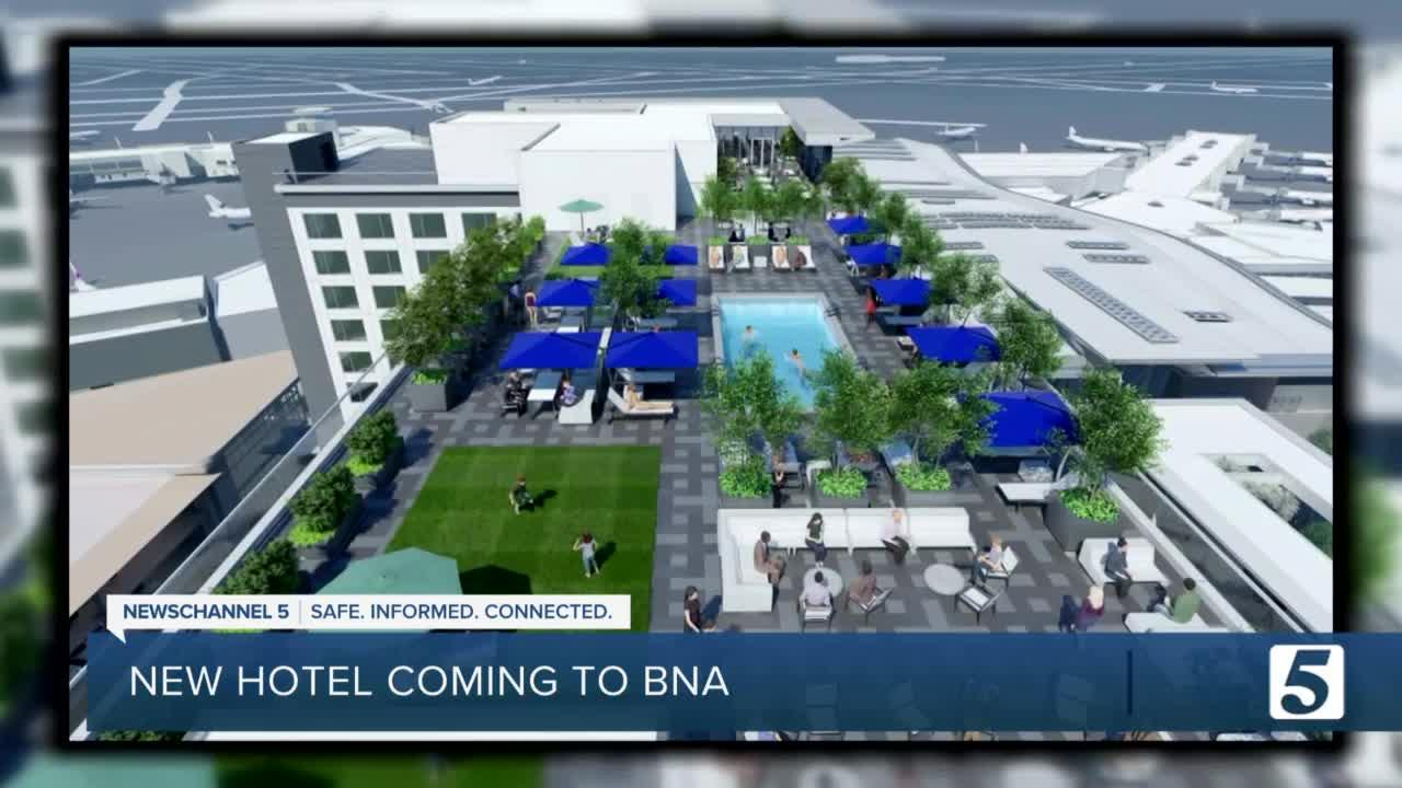BNA continues renovations with groundbreaking of new hotel, parking garage