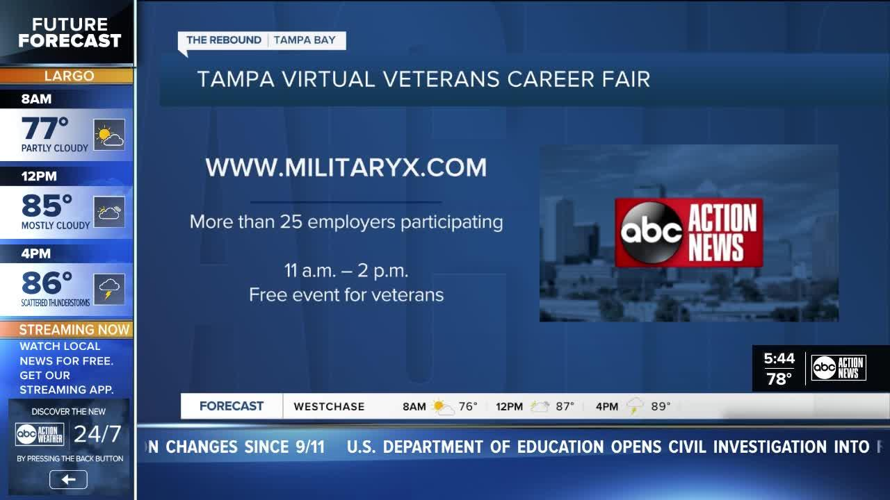 Hundreds of jobs available at two Tampa Bay area job fairs on Monday