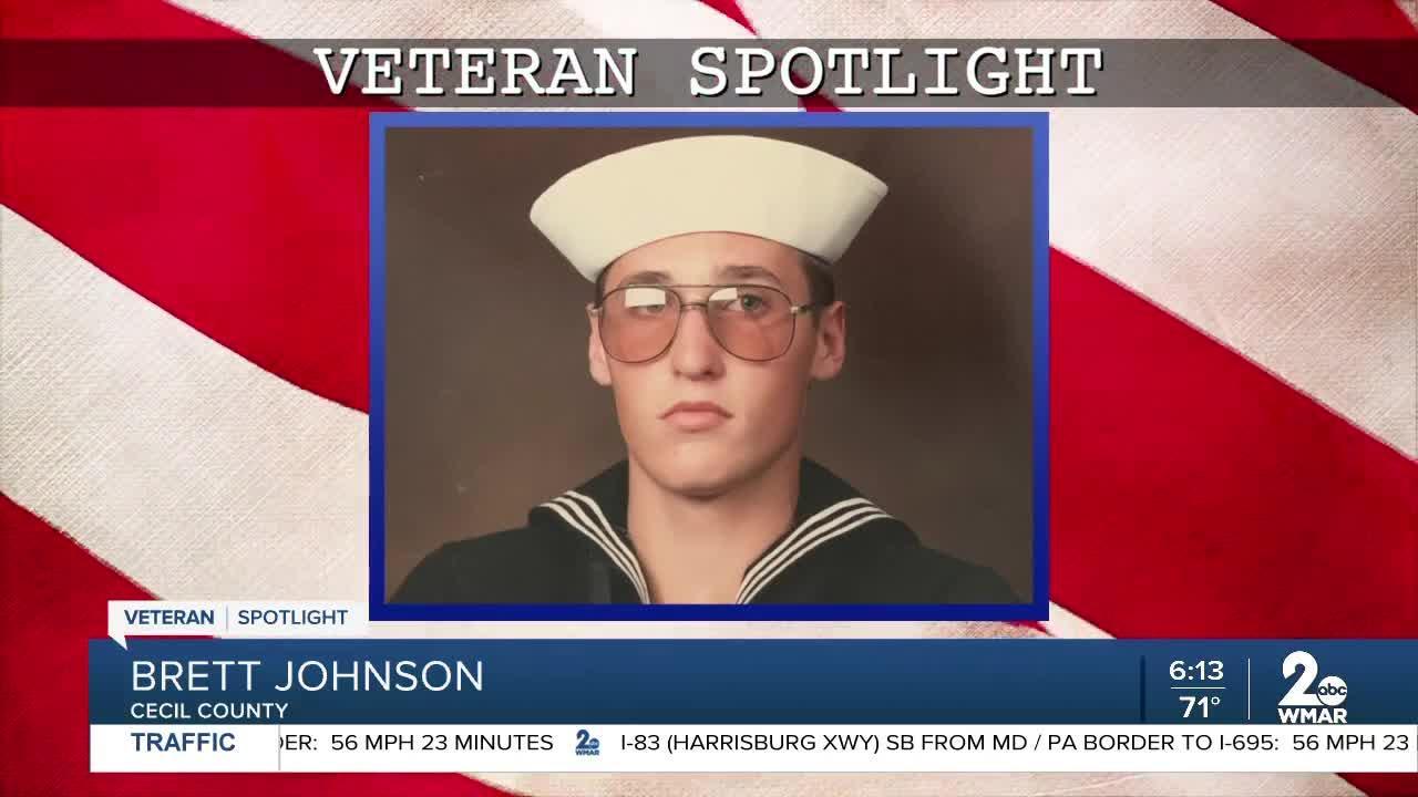 Veteran Spotlight: Brett Johnson of Cecil County