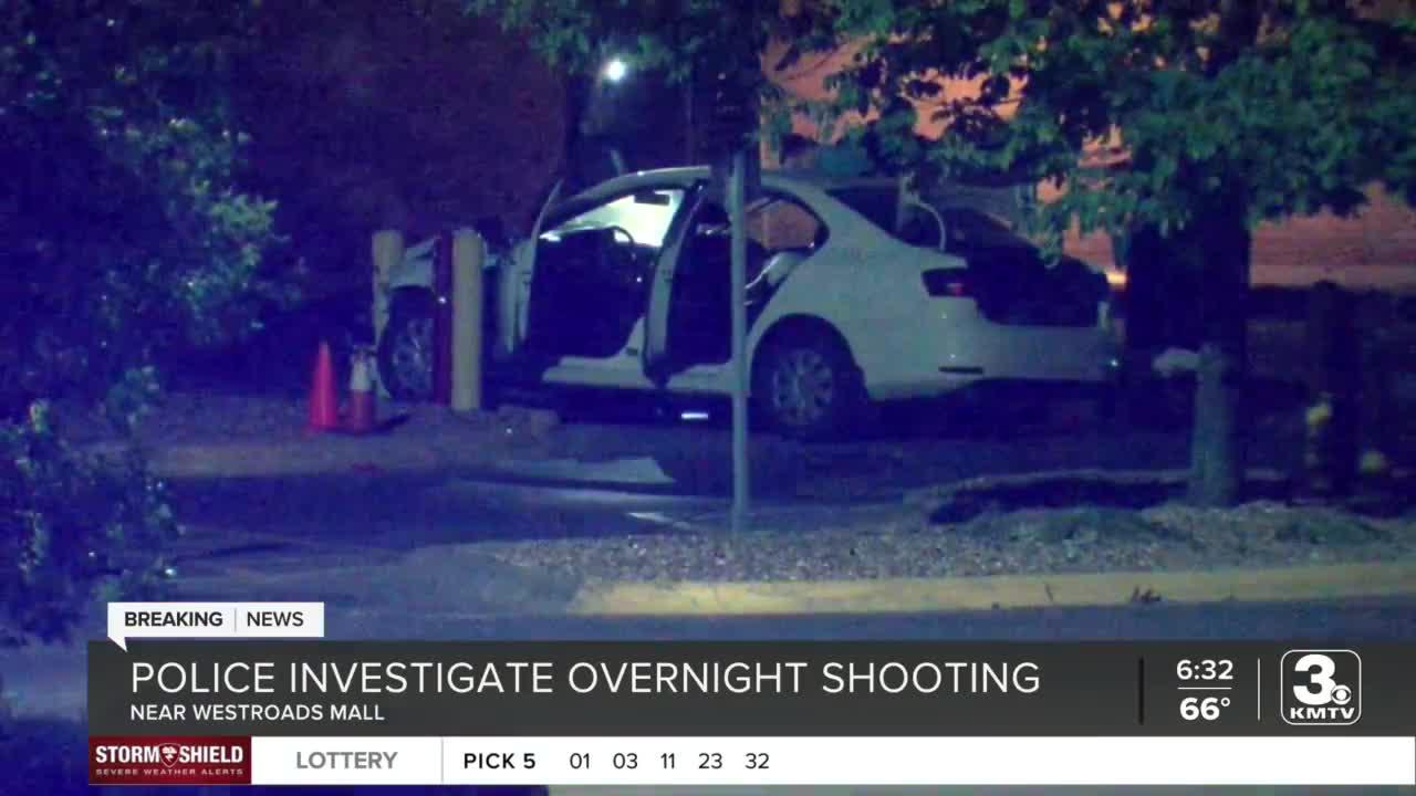 One dead, another injured in overnight shooting near Westroads Mall