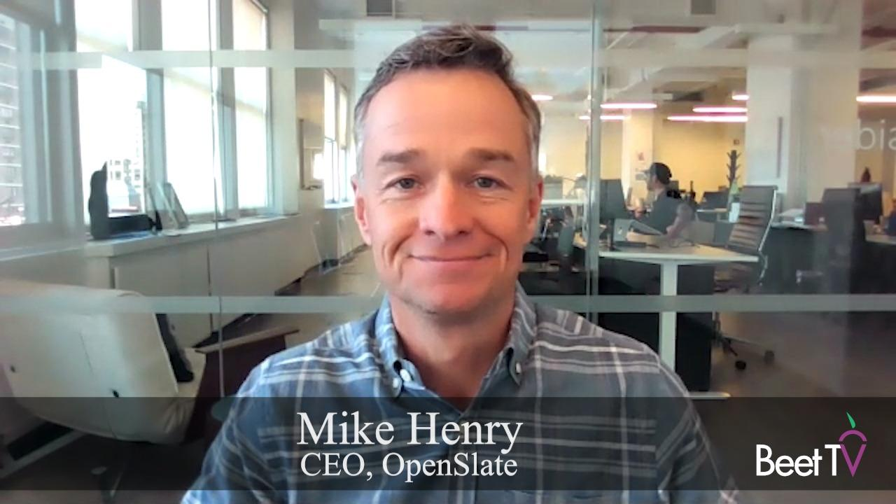 Contextual Ad Targeting Bolsters Brand Safety: OpenSlate's Mike Henry