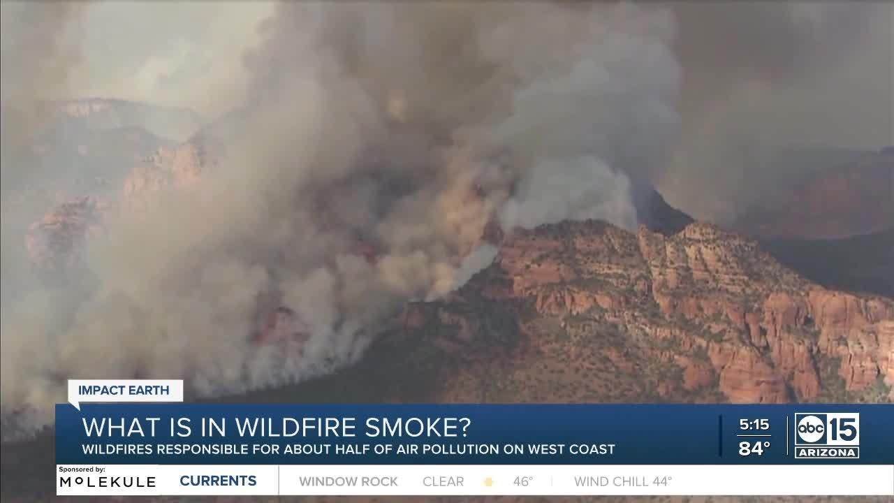What's in wildfire smoke?