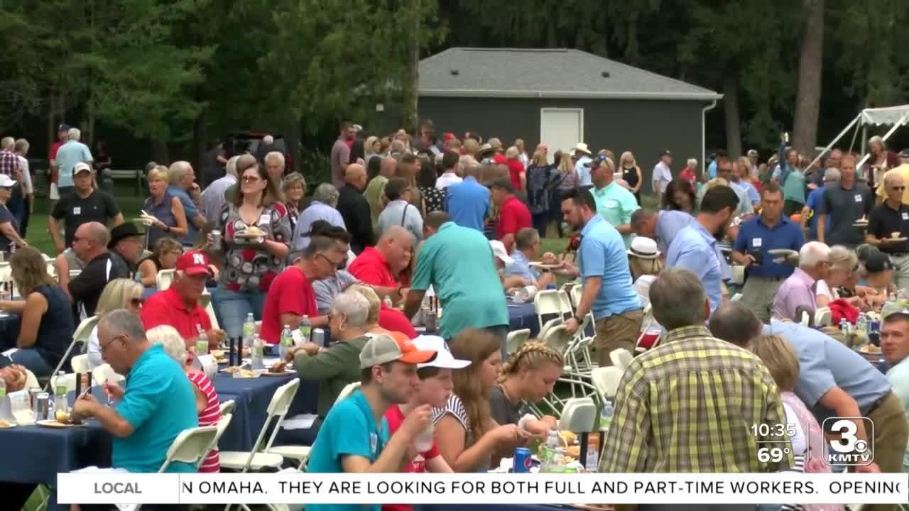 Big GOP leaders meet for Governor's Steak Fry