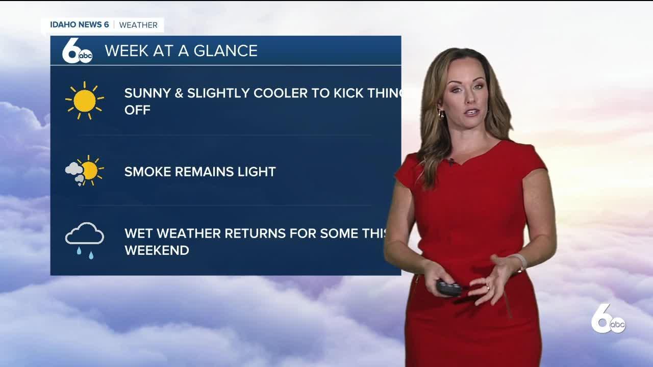 Rachel Garceau's Idaho News 6 forecast 9/13/21